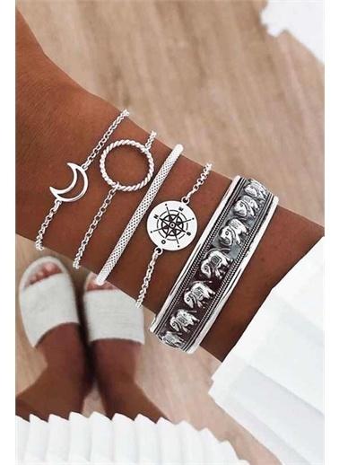 Angemiel Bijuteri Bileklik Gümüş